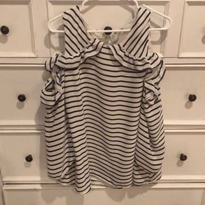 Maurice's Cold Shoulder Blouse